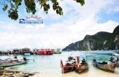 ทัวร์เกาะพีพี เกาะไม้ท่อน เกาะโหลน เรือเร้ว