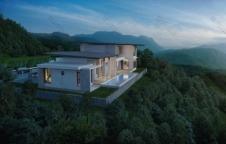 รับสร้างบ้าน Modern Luxury 4ห้องนอน 5ห้องน้ำ 533 ตรม