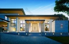 รับสร้างบ้าน Modern Luxury 4ห้องนอน 5ห้องน้ำ 833 ตรม