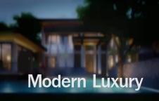 รับสร้างบ้าน Modern Luxury 6ห้องนอน 9ห้องน้ำ 1,427 ตรม