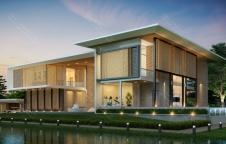 รับสร้างบ้าน Modern 7ห้องนอน 9ห้องน้ำ 1,325 ตรม