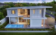 แบบสร้างบ้าน Modern 3ห้องนอน 3ห้องน้ำ 270ตรม รับสร้างบ้าน