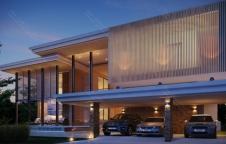 แบบสร้างบ้าน Modern 6ห้องนอน 6ห้องน้ำ 1,030ตรม รับสร้างบ้าน