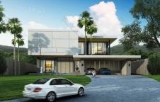 รับสร้างบ้าน Modern Luxury 5ห้องนอน 7ห้องน้ำ 530ตรม