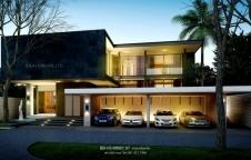 รับสร้างบ้าน Modern Luxury 6ห้องนอน 5ห้องน้ำ 660ตรม