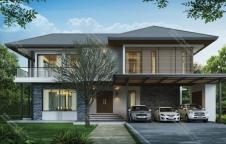 รับสร้างบ้านรีสอร์ท RE-H2-505.670 6ห้องนอน 7ห้องน้ำ 670ตรม