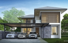 รับสร้างบ้านรีสอร์ท 4ห้องนอน 5ห้องน้ำ 5.92ล้าน RE-H2-505.320