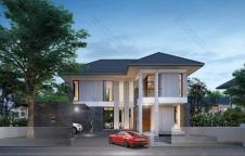 รับสร้างบ้านรีสอร์ท 4ห้องนอน 3ห้องน้ำ 245ตรม RE-H2-505.245(2018)