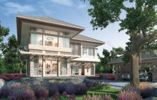 แบบบ้าน Resort Style 4ห้องนอน 3ห้องน้ำ 340ตรม. RE-H2-501.340