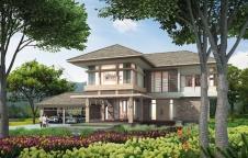 แบบบ้าน 3ห้องนอน 3ห้องน้ำ 370ตรม. Resort Style  รับสร้างบ้าน