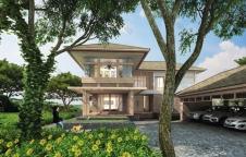 บ้านรีสอร์ท 10ล้าน 4ห้องนอน 5ห้องน้ำ 420ตรม. รับสร้างบ้าน