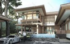รับสร้างบ้าน 16.9ล. 5ห้องนอน 5ห้องน้ำ 530ตรม. Resort Style
