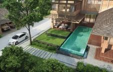 รับสร้างบ้าน 16,960,000 บาท 4ห้องนอน 5ห้องน้ำ 530ตรม.