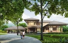 รับสร้างบ้าน Resort Style 4ห้องนอน 5ห้องน้ำ 530ตรม. 16.9ล.