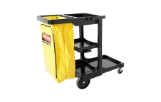 Rubbermaid : JANITORIAL CLEANING CART  รถเข็นแม่บ้าน