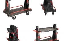 Convertible A Frame Truck รถเข็นบรรทุกของสำหรับงาน Sheet & Pipe