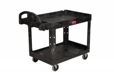 HD2-Shelf Utility Cart w/Lipped Shelf (Med) รถเข็นงานหนักขนาดกลาง
