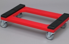 Polyethylene Dolly, Padded Deck  ดอลลี่ ล้อเลื่อนเคลื่อนย้ายของ