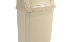 Slim Jim Wall Mounted Container ถังขยะทรงบางแบบติดผนัง