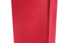 Slim Jim Step-on Resin Collection ถังขยะพลาสติกแบบเหยียบฝาเปิด
