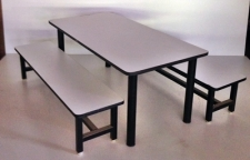 ชุดโต๊ะอนุบาล 6 ที่นั่ง  โต๊ะกิจกรรมเด็กนักเรียน