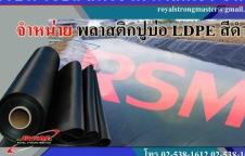 พลาสติกปูบ่อ พลาสติกปูรองบ่อคอนกรีต RSM พลาสติกพีวีซี LDPE