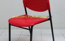เก้าอี้โพลี ขาเหล็กแป๊ปไข่ รุ่น CP-03