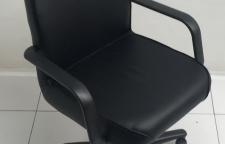 เก้าอี้สำนักงานมีล้อเลื่อน มีท้าวแขนเบาะหุ้มหนังPVCเกรดA