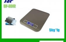 เครื่องชั่งดิจิตอล 5000g ละเอียด1g ยี่ห้อ JSP รุ่น SF-2012
