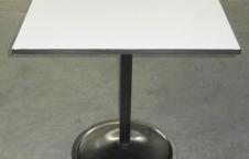 โต๊ะอาหาร โครงขาเหล็ก จานปั๊มกลม ขนาด 20 นิ้ว หนา 3 มิล