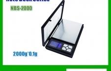 เครื่องชั่งแบบพกพา2000gx0.1g ยี่ห้อ Notebook Series รุ่น NBS-2000