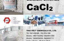 แคลเซียมคลอไรด์, Calcium Chloride, CaCl2