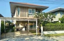 บ้านให้เช่า/ขาย บ้านหรูคณาสิริ บางนาเอแบค ใกล้สนามบินสุวรรณภูมิ