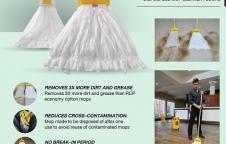Disposable mop cleaner floors ผ้าม็อบแบบใช้แล้วทิ้ง