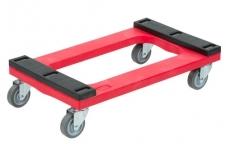 Polyethylene Dolly, Padded Deck : ดอลลี่ที่เคลื่อนย้ายของแบบมีล้อ