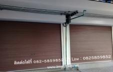 ฐานทอง โมเดิร์นกรุ๊ป รับติดตั้งประตูม้วน โทร.0825859852