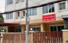 ทาวน์โฮม 3ชั้น บ้านริมสวน เมืองนนทบุรี ใกล้ MRT แยกติวานนท์