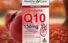 Healthy Care Coenzyme Q10150mg เสริมการทำงานของหัวใจชะลอวัยของผิว