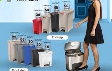 Slimjim Step-on container ถังขยะเท้าเหยียบ