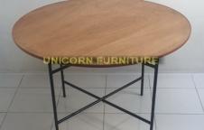 โต๊ะจีนกลม TF-120-P ราคา 890 บาท