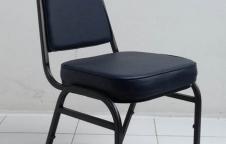 เก้าอี้จัดเลี้ยง โครงขาเหล็ก แป๊ปเหลี่ยมหนา 1.2 มิลเต็ม