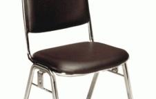 เก้าอี้จัดเลี้ยง รุ่นรับปริญญา โครงขาเหล็ก แป๊ปรูปไข่ หนา 1.2 มิล