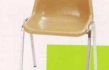เก้าอี้โพลี  เก้าอี้ศูนย์อาหาร โครงขาเหล็กแป๊ปหนา 1.2มิลเต็ม