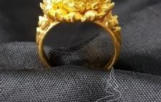 แหวนทองคำหัวปรอท โรงหล่อพรหมรังสี บริษัท พุทธ พรหมรังสี จำกัด