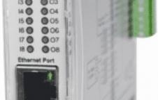PB-08 : MODBUS TCP I/O MODULE 4 DIGITAL INPUT