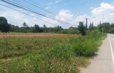 ขายที่ดินใกล้เขื่อนเพชร  17 ไร่ ติดแม่น้ำเพชรบุรี
