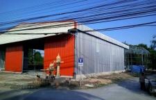 ให้เช่าโกดังสร้างใหม่ ถนนราชพฤกษ์ บางกรวย นนทบุรี