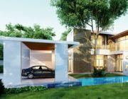 Modern Luxury แบบบ้าน 2 ชั้น สไตล์โมเดิร์น Modern 4 ห้องนอน 5 ห้องน้ำ