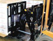 ขาย Push Pull Attachment อุปกรณ์เสริมสำหรับ Forklift ใช้ในการหนีบ จับแผ่น Slip Sheet