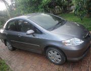 ขายรถยนต์ฮอนด้าซิตี้ ปี2003 สีเทา รถใช้น้อย สภาพดีเยี่ยม ราคาถูก